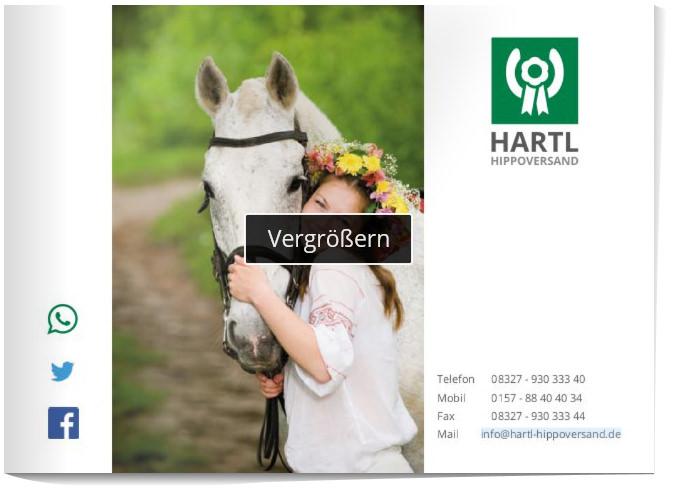 Pokal Katalog von Hartl-Hippoversand